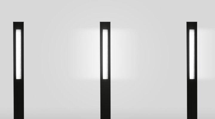 Addo L95 Leuchte in Schwarz